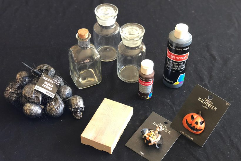 How To Make Diy Halloween Apothecary Jars Diy Vibes