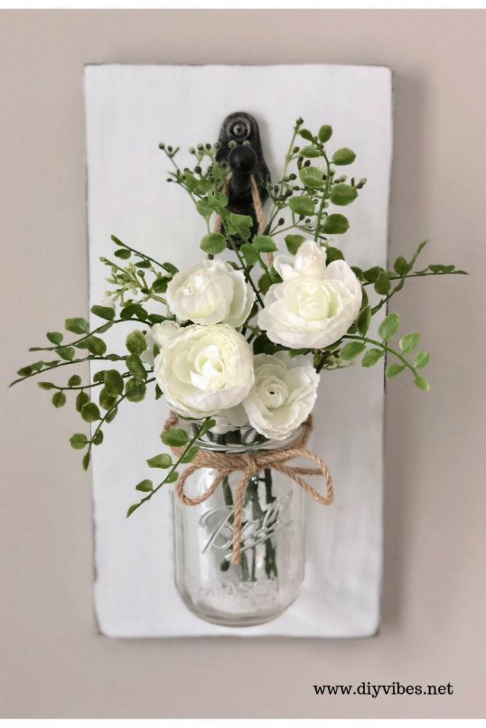 Diy Farmhouse Mason Jar Wall Decor Diy Vibes